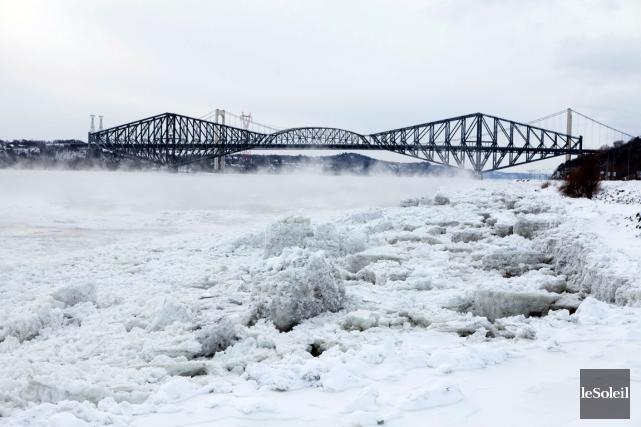 Le pont de Québec... (Photothèque Le Soleil, Caroline Grégoire)