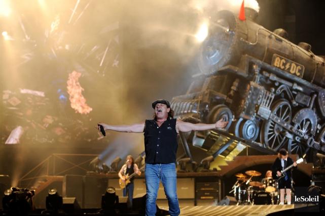 Le dernier passage de AC/DC dans la province... (Photothèque Le Soleil)
