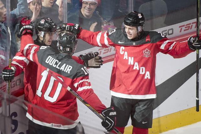 Robby Fabbri, le joueur du match pour le... (La Presse Canadienne)