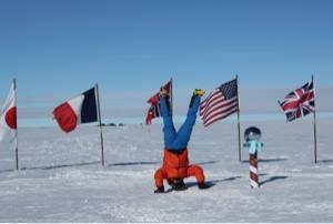 L'aventurier Frédéric Dion a atteint le pôle sud... (PHOTO: FRÉDÉRIC DION)