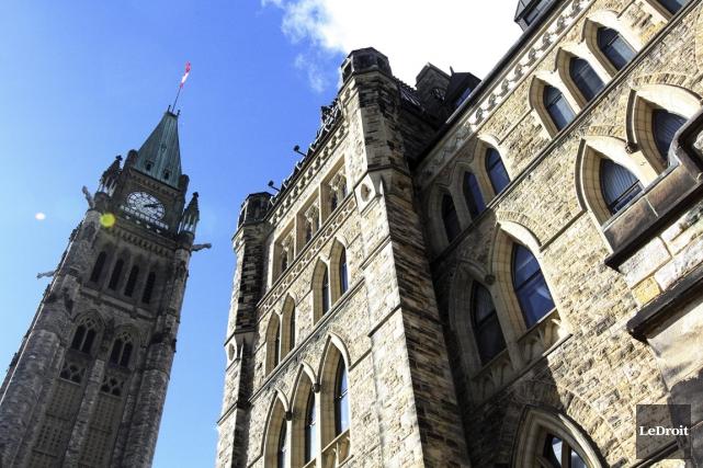 Le gouvernement fédéral rend public un ensemble de... (Photo Étienne Ranger, Le Droit)