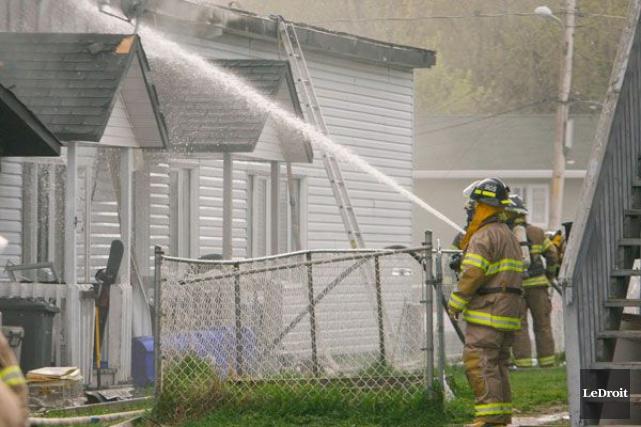 Le nombre d'heures supplémentaires payées aux pompiers de... (Archives, LeDroit)