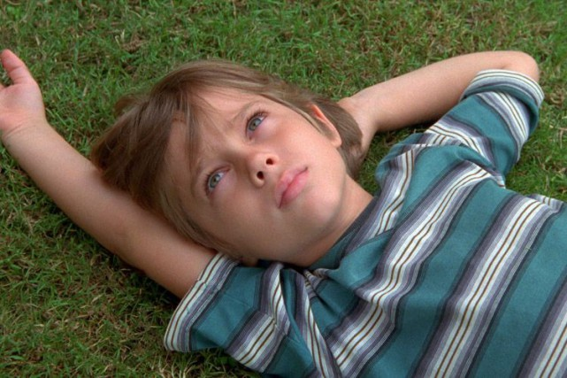 Ellar Coltrane dans une scène de Boyhood.... (IFC Films)