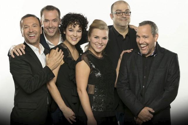 L'équipe du Bye Bye 2014.... (PHOTO FOURNIE PAR RADIO-CANADA)