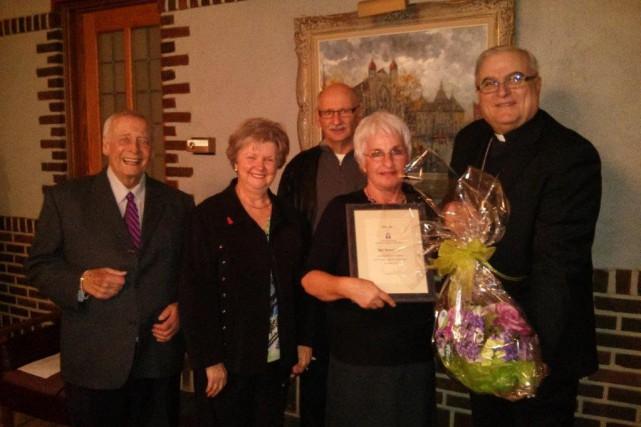 La famille de l'abbé Maurice Ruel a reçu... (Photo fournie)