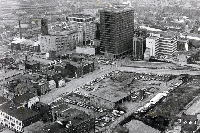 La Place Québec en 1970... (Archives Le Soleil)