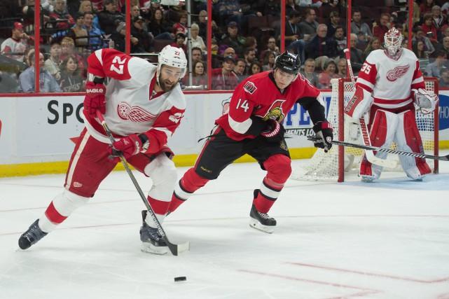 Deux jours après Noël, les Sénateurs d'Ottawa et les Red Wings de Detroit... (Photo Marc DesRosiers, USA TODAY Sports)