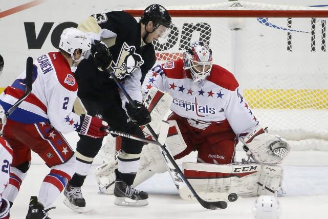 Les Penguins ont encaissé un premier revers à... (Photo Gene J. Puskar, AP)