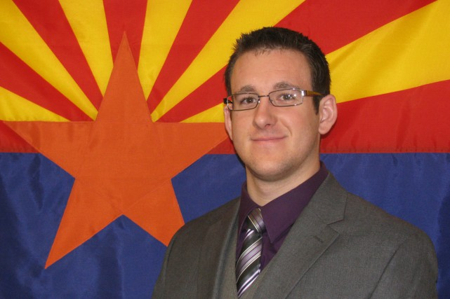 L'agent Tyler J. Stewart, assassiné samedi en Arizona, était... (Photo AP)