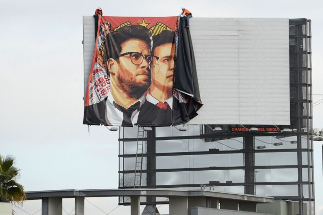 The Interview, la parodie de Sony Pictures sur un complot fictif de la... (Photo: AFP)