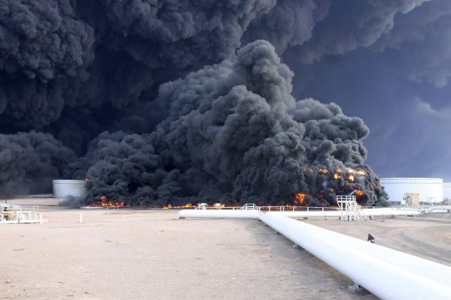 Les raids ont été menés en riposte à... (Photo Reuters)