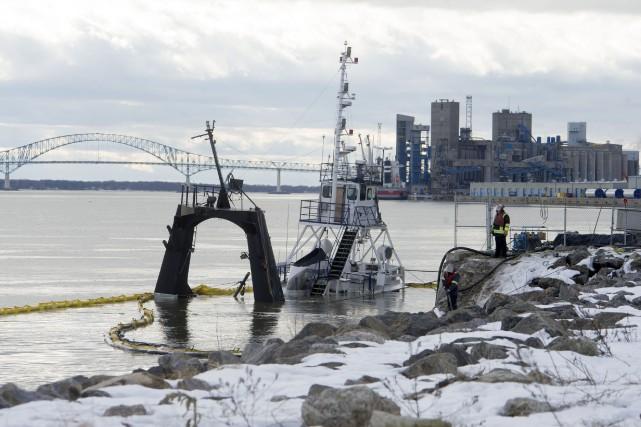 La Garde côtière canadienne ne peut pas affirmer... (Photo: Stéphane Lessard)