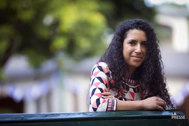 Rachel Bendayan, candidate du Parti libéral dans la... (PHOTO OLIVIER JEAN, ARCHIVES LA PRESSE)
