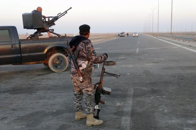 Les forces irakiennes ont réussi à prendre plusieurs... (Photo archives AFP)