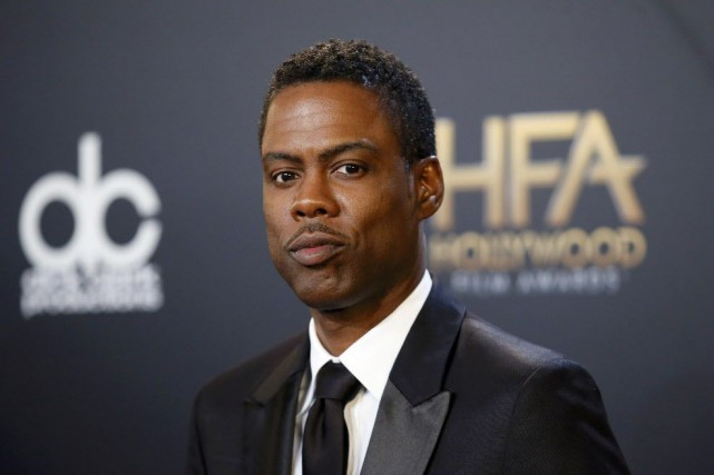 Chris Rock et Malaak Compton-Rock, qui a fondé... (Photo DANNY MOLOSHOK, Reuters)