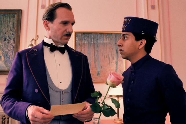 L'Hôtel Grand Budapest de Wes Anderson... (Media Films)