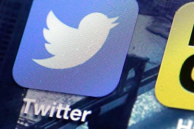 La croissance du nombre d'utilisateurs du réseau social Twitter a été... (Photo Richard Drew, AP)
