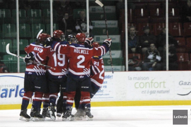 Les Wildcats de Moncton ont eu le meilleur... (Photo Simon Séguin-Bertrand, Archives Le Droit)