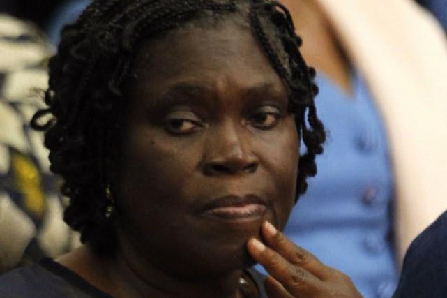 Simone Gbagbo, l'ex-première dame, 65 ans, est jugée... (Photo Luc Gnago, Reuters)