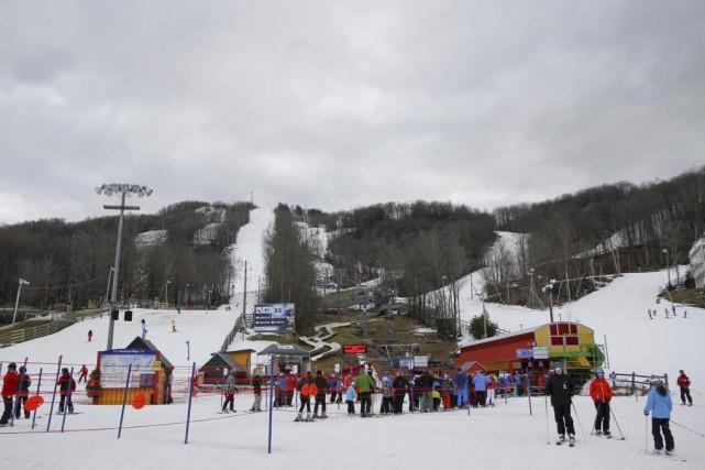 La qualité de la neige est due à... (photo Julie Catudal)