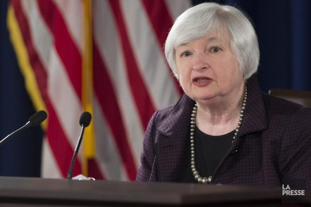 La présidente de la Réserve fédérale américaine, Janet... (Photo Saul Loeb, archives Reuters)
