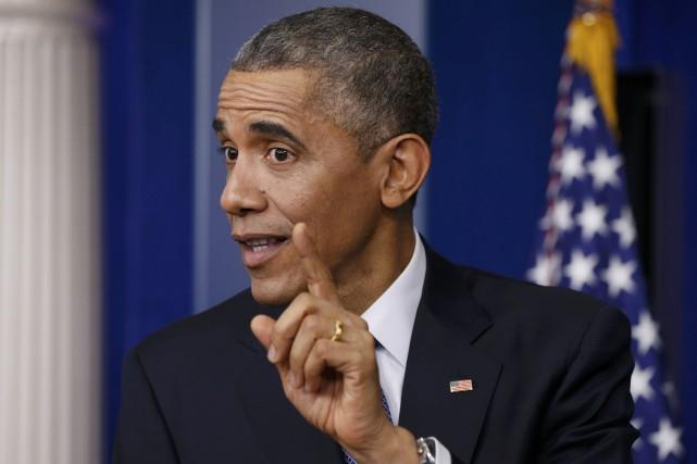 Le président des États-Unis, Barack Obama.... (Photo Kevin Lamarque, archives Reuters)