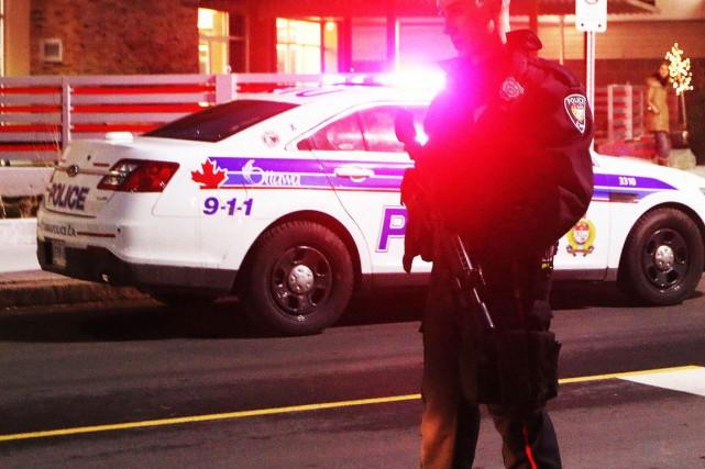 Une autre fusillade s'est produite tôt lundi matin à Ottawa. (Archives, LeDroit)