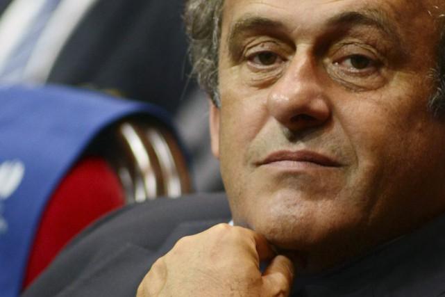 Le président de l'UEFA, Michel Platini.... (Photo Jean-Pierre Amet, archives Reuters)