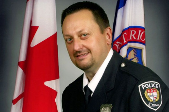 L'agent Ireneusz Eric Czapnik..... (Courtoisie: Service de police d'Ottawa)
