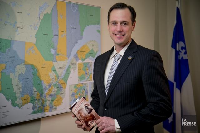Enseignant au primaire avant d'être élu à l'Assemblée... (PHOTO DAVID BOILY, ARCHIVES LA PRESSE)