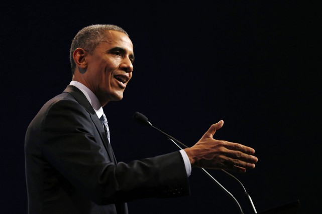 Le président américain Barack Obama... (Photo JASON REED, Reuters)
