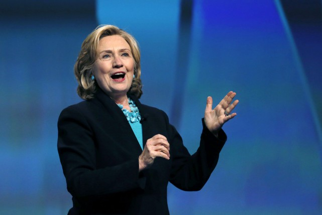 La démocrate de 67 ans, Hillary Clinton,continue de... (Photo Elise Amendola, AP)