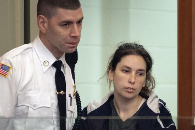 Erika Murray, 31 ans, a comparu en cour... (AP)