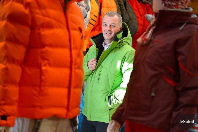 La compagnie Mode Avalanche, présidée par Jean-François Caron,... (Photo Le Soleil, Yan Doublet)