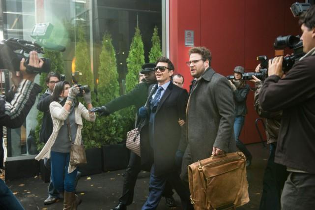 Après avoir complètement annulé la sortie, Sony Pictures... (Photo Sony - Columbia Pictures, AP)