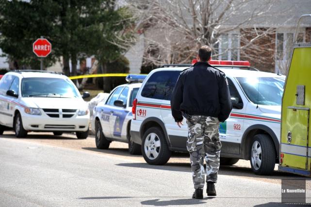 Les policiers de Trois-Rivières ont mis leur pantalon... (Photo: Stéphane Lessard Le Nouvelliste)