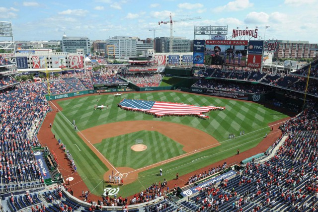 Le Nationals Park de Washington.... (Photo archives USA Today)