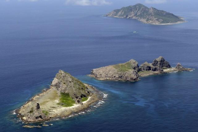 Situées en mer de Chine orientale, les îles... (Photo Kyodo News, AFP)