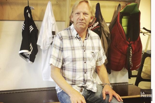 Olaf Eller, le père de Lars Eller... (Photo Gabriel Béland, La Presse)