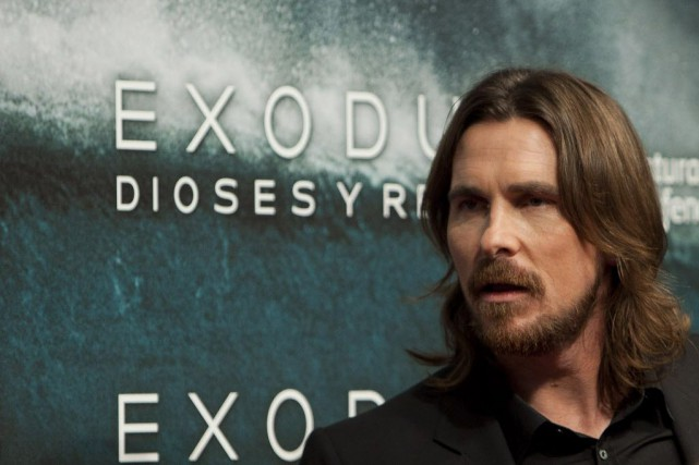 Exodus: Gods and Kings, qui a coûté 140... (Photo Abraham Caro Marin, AP)