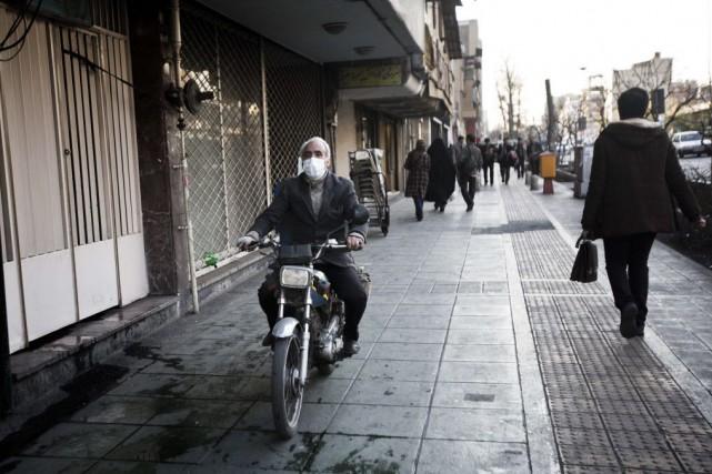 Téhéran est l'une des villes les plus polluées... (PHOTO BEHROUZ MEHRI, AFP)