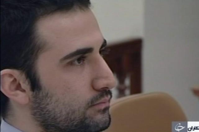 Amir Hekmati, 32 ans, avait été arrêté en... (Photo archives AP/Télévision perse)