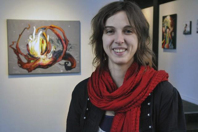 Chanterel Gagnon est heureuse de présenter 23 oeuvres... ((Photo Michel Tremblay))