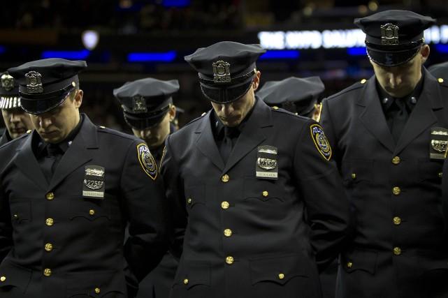 Un homme qui avait menacé sur internet de tuer des policiers, a été tué par... (Photo Reuters)