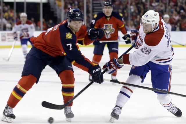 Le Canadien a conclu l'année 2014 sur une bonne note en l'emportant 2-1 en tirs... (Photo AP)