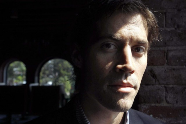 Le journaliste américain James Foley, retenu en otage... (PHOTO ARCHIVES AP)