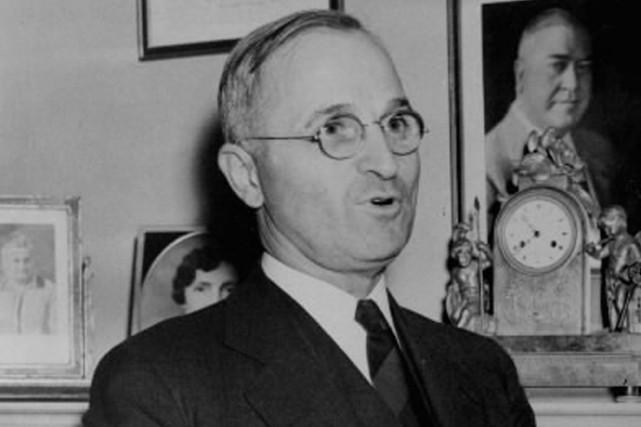 Harry Truman.... (Photo: archives AP)