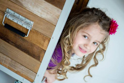 La petite Laurie Dubé-Coutu, la fillette de 6 ans d'Ascot Corner qui a perdu la... (Photo Facebook)