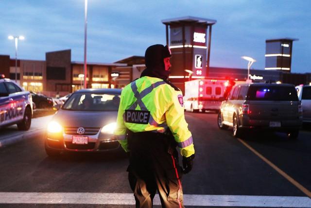 L'homme arrêté relativement à la fusillade survenue vendredi dernier au centre... (Étienne Ranger, Archives LeDroit)