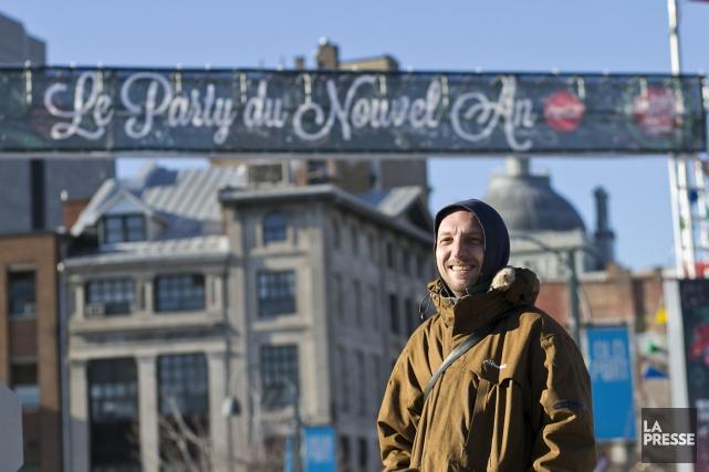 Pour la deuxième année, Montréal en Fêtes propose un party du Nouvel An en... (PHOTO HUGO-SEBASTIEN AUBERT, LA PRESSE)